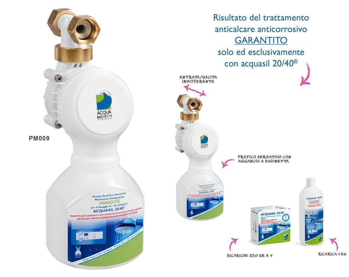 pompa dosatrice minidos pm009 per addolcitore acquasil 20